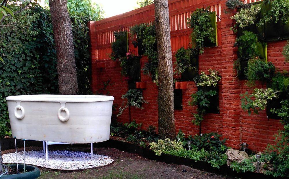 Paisajismo terrazas y patios Madrid
